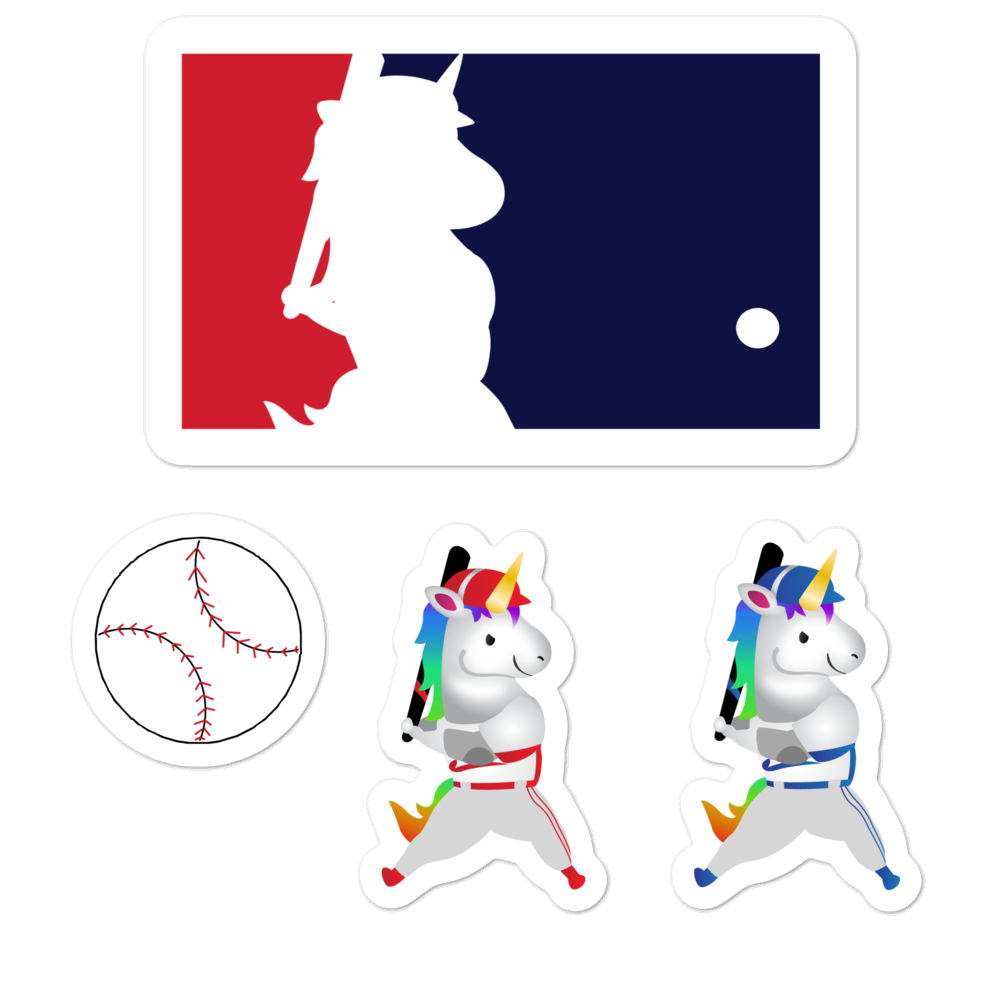 Sovereign Unicorn Baseball League Stickers