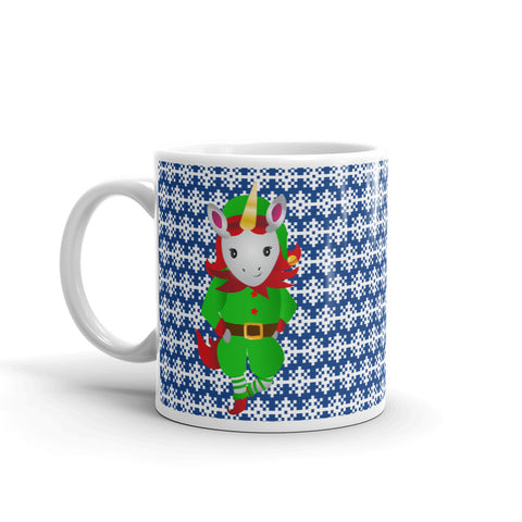 Santa's Unicorn Helper Mug by Sovereign