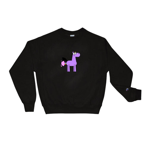 Happy Accidents Champion Sweatshirt by Be a Unicorn