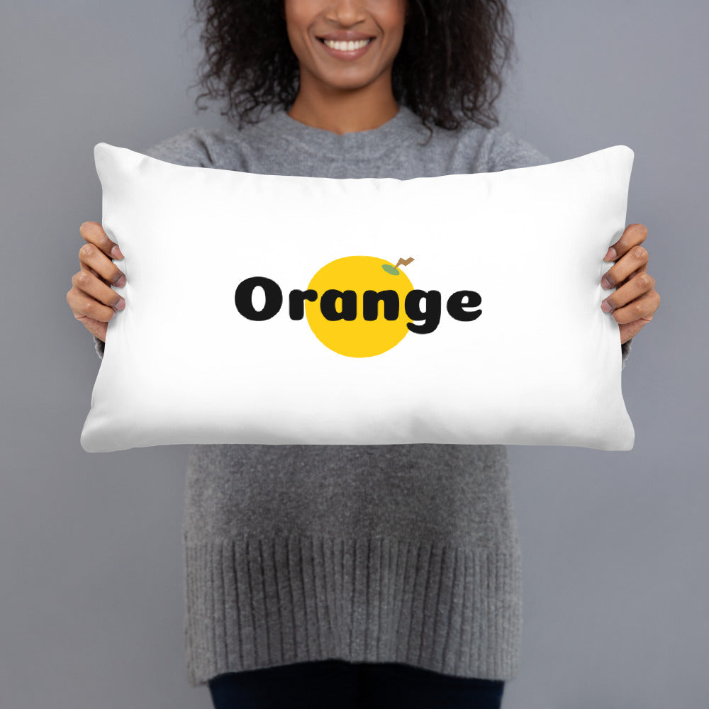 Things that Rhyme with Orange Pillow