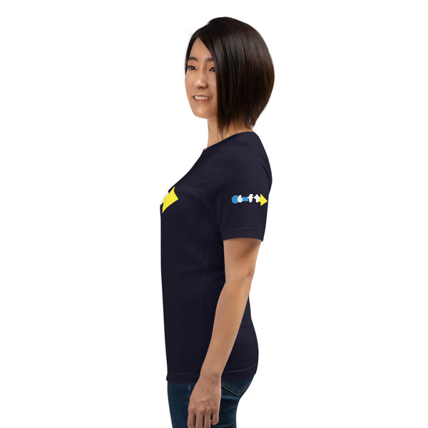 6 ft Radius Unisex T-Shirt by Sovereign
