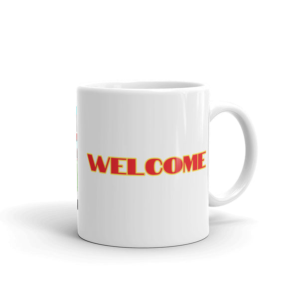 Unicornland Welcome Mug by #unicorntrends