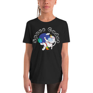 Space Cadet Youth Short Sleeve T-Shirt by Sovereign