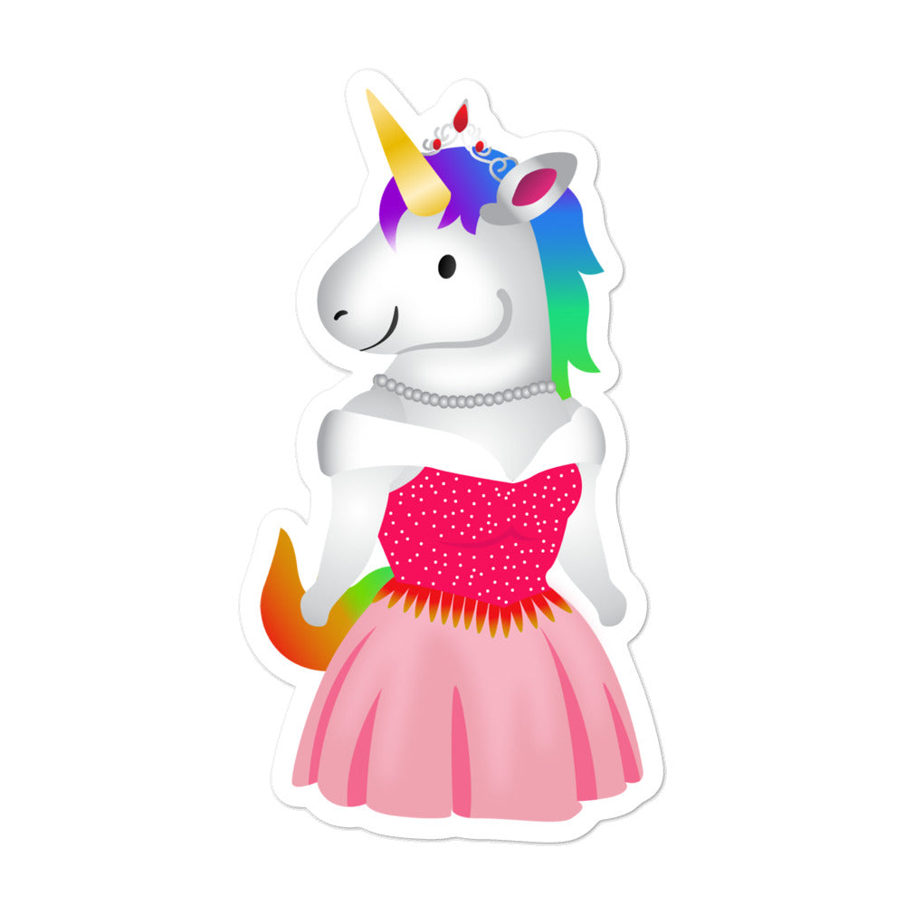 Unicorn Princess Sticker by Sovereign