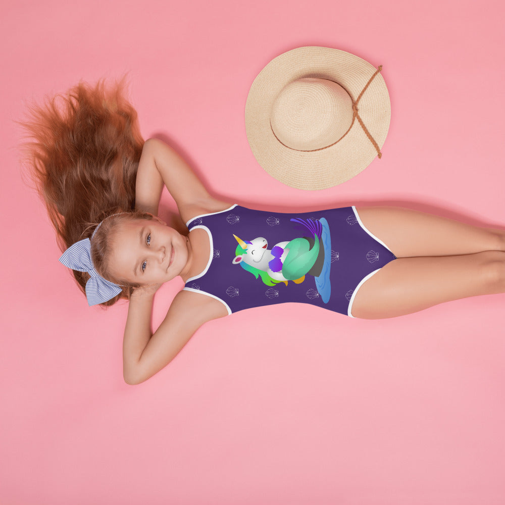 Mermaid Unicorn Kids Swimsuit by Sovereign