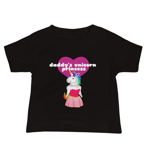 Sovereign Daddy's Unicorn Princess Infant T-Shirt