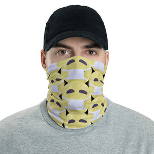 Face Mask Emoji Neck Gaiter by #unicorntrends