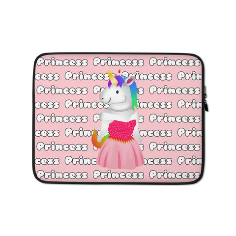 Unicorn Princess Laptop Sleeve by Sovereign