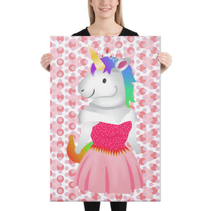 Unicorn Princess Canvas by Sovereign