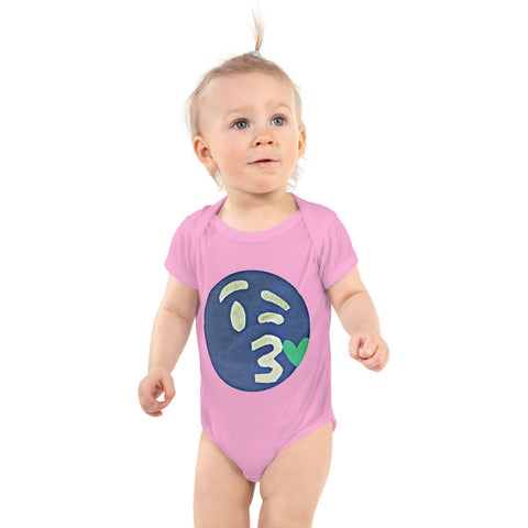 The Opposite of This Emoji Infant Bodysuit by #unicorntrends