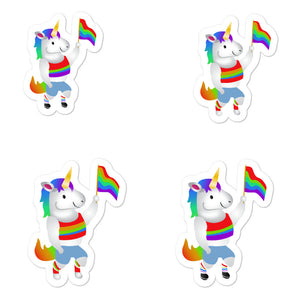 Sovereign Blessing of Pride Unicorns Stickers