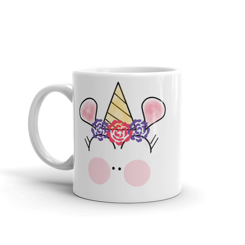 Basic Party Time Unicorn Mug by #unicorntrends