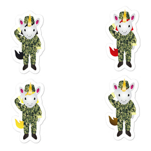 Military Unicorn Sticker Set by Sovereign