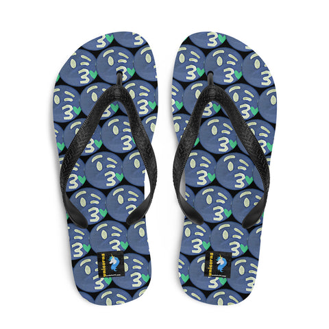 The Opposite of This Emoji Flip-Flops