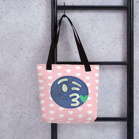 The Opposite of This Emoji Tote Bag by #unicorntrends