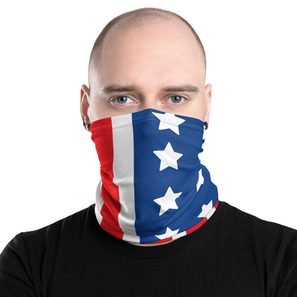 American Flag Neck Gaiter by #unicorntrends