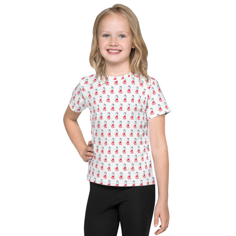 Unicorn Princess Kids All Over T-Shirt by Sovereign