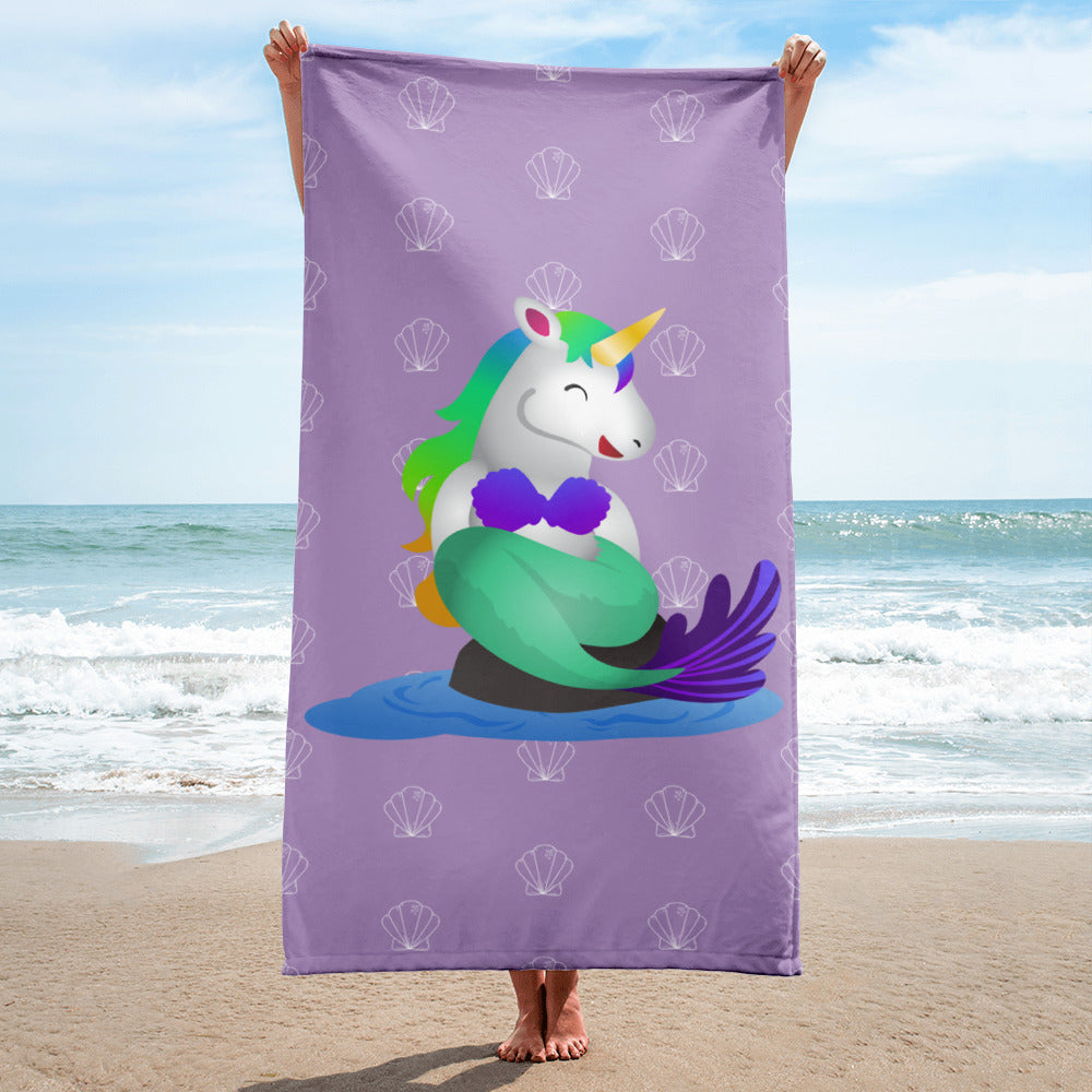 Mermaid Unicorn Towel by Sovereign