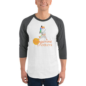"Unicorn Baseball League ""Tangerine Trotters"" Team Shirt by Sovereign"