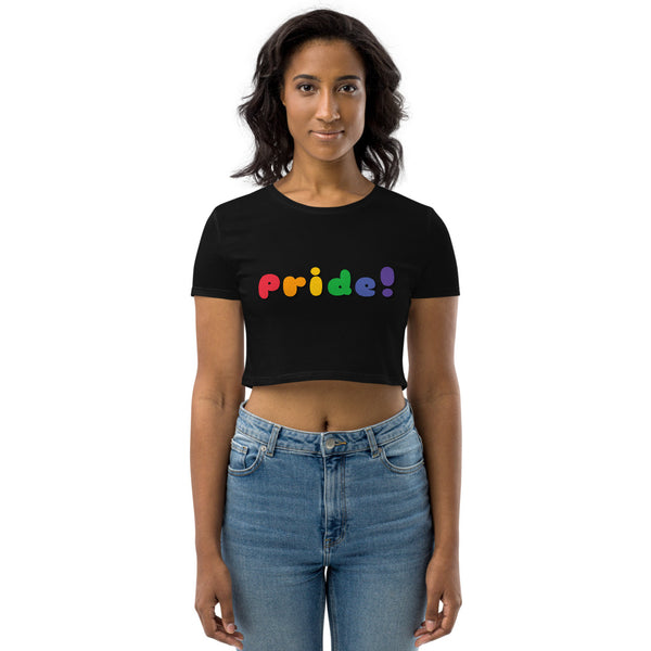 Pride! Organic Crop Top by Sovereign