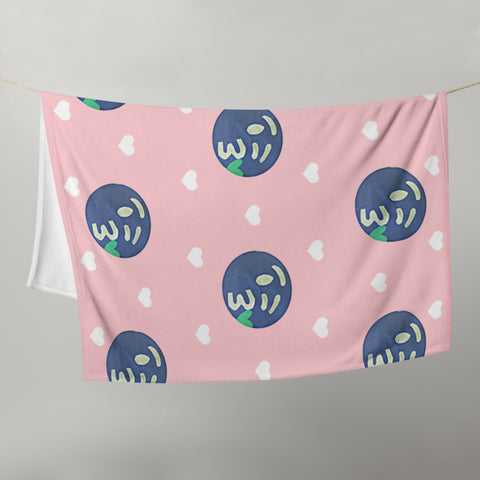 The Opposite of This Throw Blanket by #unicorntrends