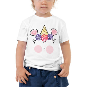 Basic Party Time Unicorn Toddler Tee by #unicorntrends