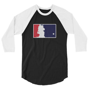 Unicorn Baseball 3/4 Sleeve Raglan Shirt by Sovereign