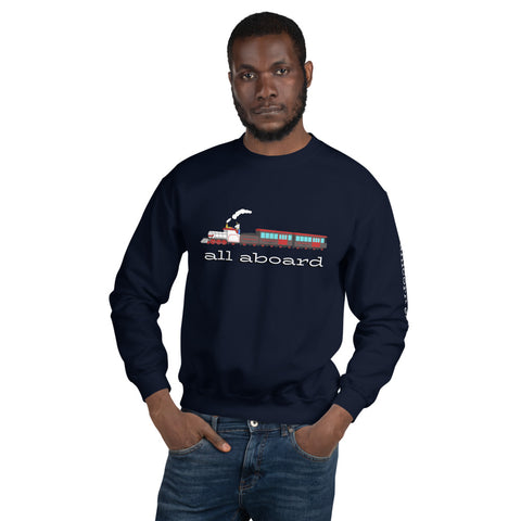 All Aboard the Unicorn Express Sweatshirt by #unicorntrends