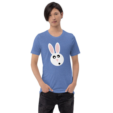 Easter Bunny Unisex T-Shirt by #unicorntrend