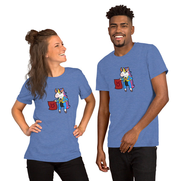 Taurus Unicorn Short-Sleeve Unisex T-Shirt by #unicorntrends