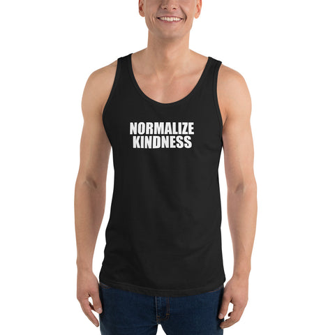 Normalize Kindness Unisex Tank Top by #unicorntrends