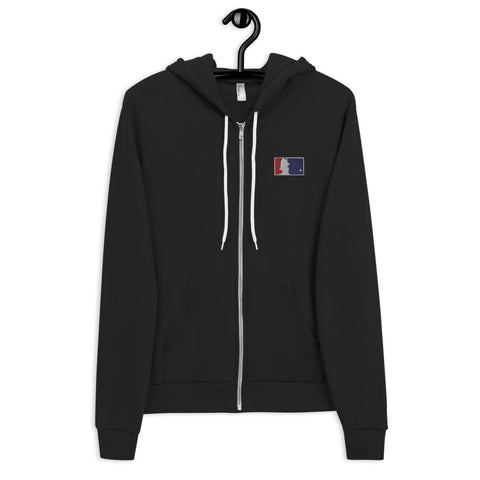 Unicorn Baseball Zip Up Hoodie by Sovereign
