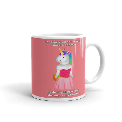 Unicorn Princess Coffee Mug by Sovereign