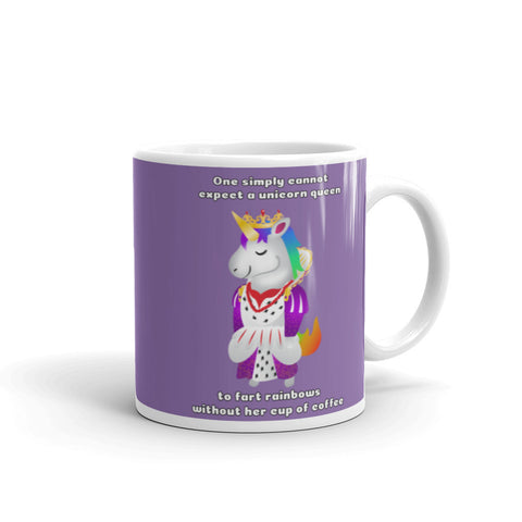 Unicorn Queen Coffee Mug by Sovereign