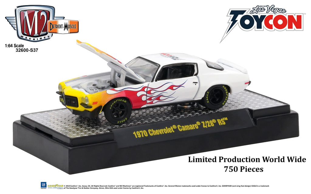 Chevy Camaro Promo From ToyCon 2018