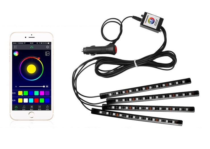 Carbience Lights (Smartphone controlled)