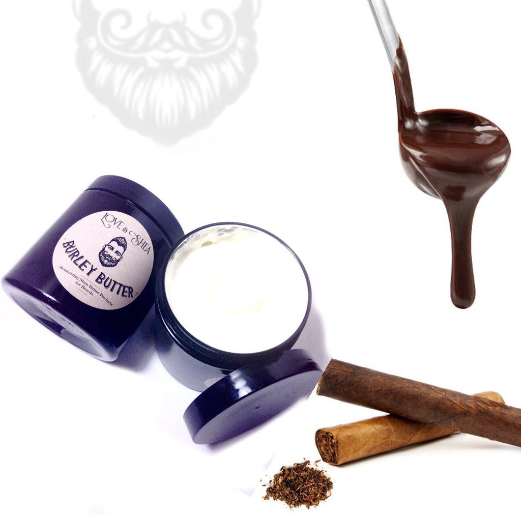 Spiced Chocolate Tobacco Beard & Body Butter  - Whipped Shea Butter for Men