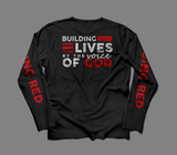 T-Shirt Long Sleeve GOING RED (VOG Back)