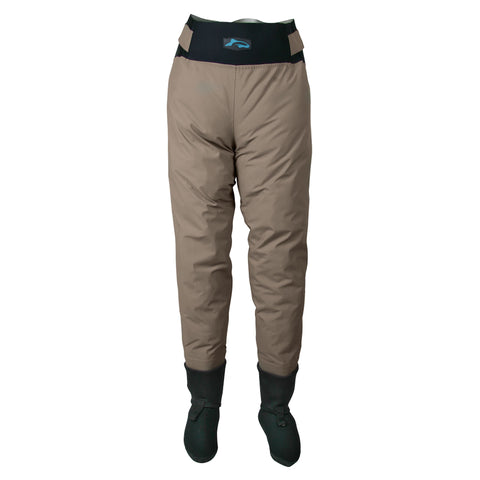Breathable waist waders