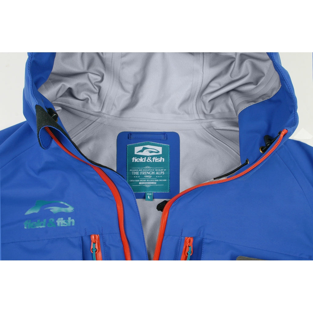 PRO-Guide expert Fishing Jacket Limited Run Blue