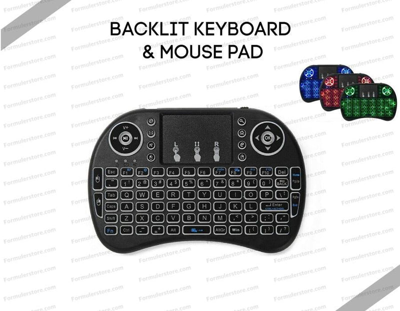 Backlit Keyboard & Mouse Pad Dreamlink-Formuler