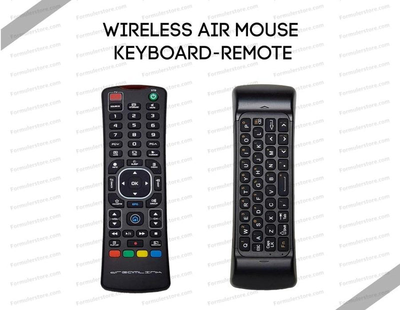 Dreamlink Formuler Wireless Air Mouse Keyboard Remote Dreamlink-Formuler