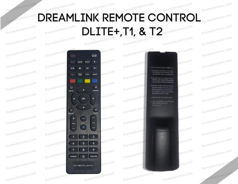 Dreamlink Remote Control for Dlite+,T1 T2 Dreamlink-Formuler