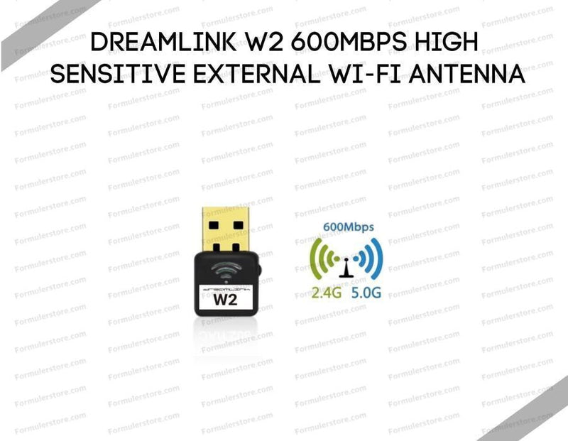 Dreamlink W2 600Mbps High Sensitive External Wi-Fi Antenna Dreamlink-Formuler