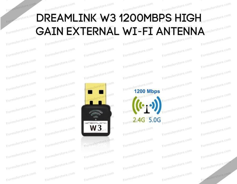 Dreamlink W3 1200MBPS High Gain External WI-FI Antenna Dreamlink-Formuler