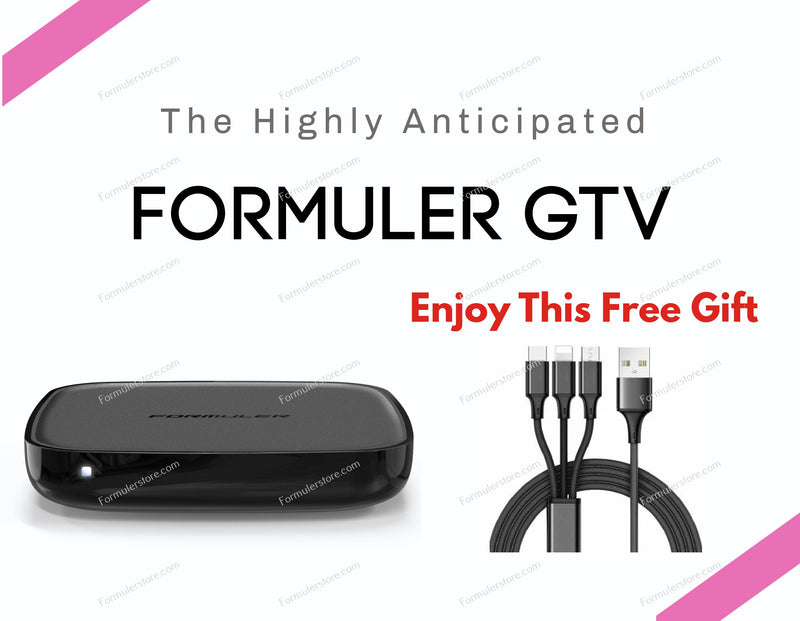 Formuler GTV 4K Media Streaming Box Formulerstore.com 3 IN 1 USB Phone Charger Cable