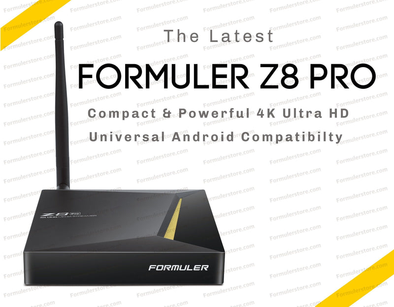 Formuler Z8 PRO 4K Media Streaming Box Formulerstore.com