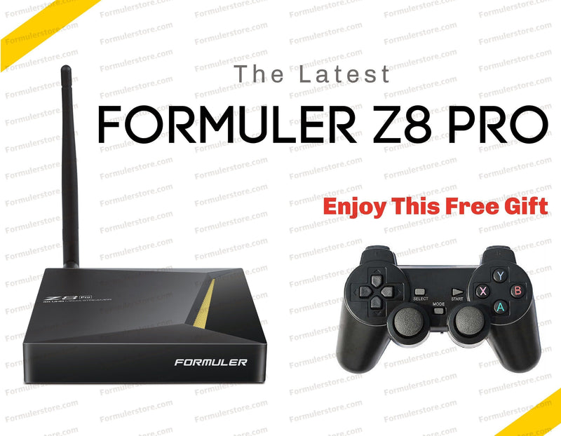 Formuler Z8 PRO 4K Media Streaming Box Formulerstore.com Gaming controller