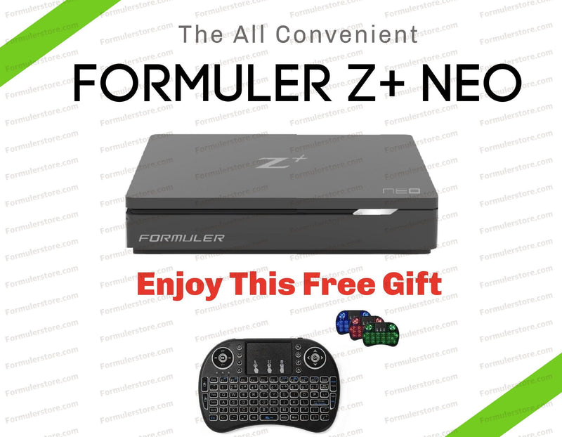 Formuler Z+NEO 4K Media Streaming Box Dreamlink-Formuler Backlit Keyboard & Mouse Pad