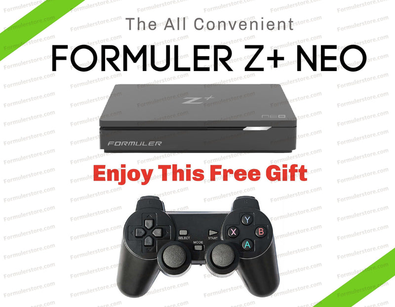 Formuler Z+NEO 4K Media Streaming Box Dreamlink-Formuler Gaming controller